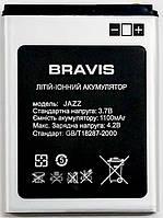 Аккумулятор Original Jazz  для мобильного телефона Bravis, 1100mAh