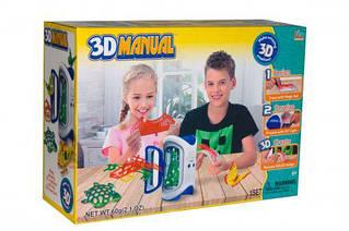 Набор 3D LM111-1 (18шт)печка для запекания, формочки, 4 цвета ручек, в коробке 35,5*25,3*12,5