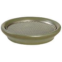 Глиняная тарелка  Eschenfelder для проращивания и микрозелени 12 см, оливковая, фото 1