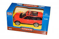 JT Машина Land Rover 3 металлопластик 6524 WC-ABCD (108) в коробке
