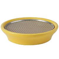 Глиняная тарелка  Eschenfelder для проращивания и микрозелени 12 см, желтая