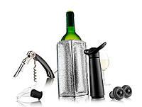 Набор для вина с одеянием охлаждения Vacu Vin