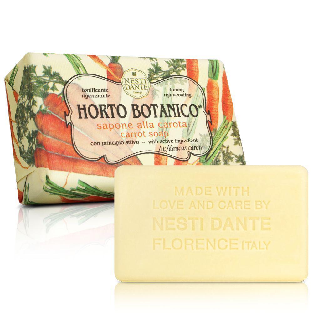 Мыло Nesti Dante Horto Botanico Carota Морковное 250г
