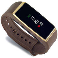 Фитнес-браслет MyKronoz ZeFit2 Pulse Brown Gold (KRZEFIT2-GOLD)