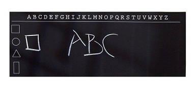 Наклейка декоративная для рисования мелом Алфавит