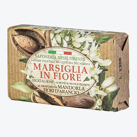 Nesti Dante Marsiglia in Fiore Mandorla e Fiori D'Aracio Мыло Миндаль и Цветы апельсина 125г.