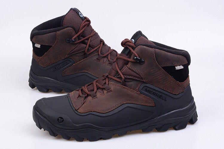 Зимние ботинки меррелл merrell Overlook 6 Ice+ каричневый - Интернет-магазин  обуви для спорта