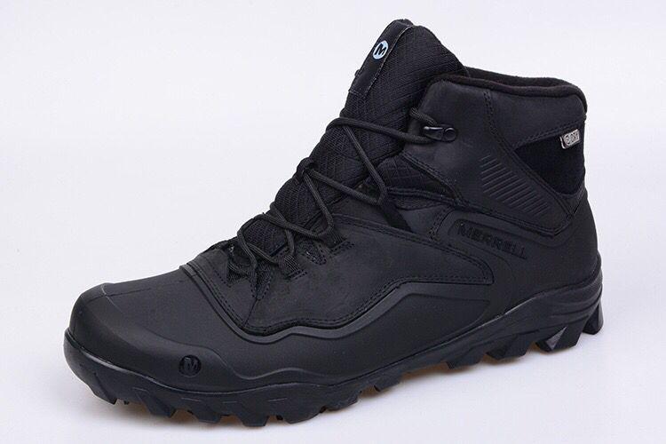 Зимние ботинки меррелл merrell Overlook 6 Ice+ черные - Интернет-магазин  обуви для спорта