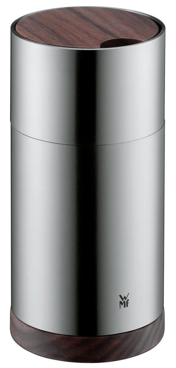 мельница для соли или перца с деревянной крышкой