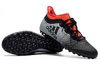 Футбольные сороконожки adidas X Tango 16.1 TF Core Black/White/Solar Red, фото 1