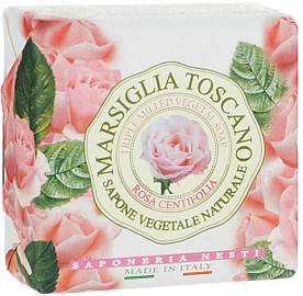 Nesti Dante Marsiglia Toscano Мыло Роза Столепестковая 200г Rosa Centifolia