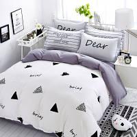 Постельное белье Хорошего дня саржа 100% хлопок комплект двуспальный, кровать 1.8 м