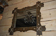 Деревянная рама для зеркала. Ручная работа.