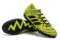 Футбольные сороконожки adidas Nemeziz Tango 17.3 TF Solar Yellow/Core Black, фото 1