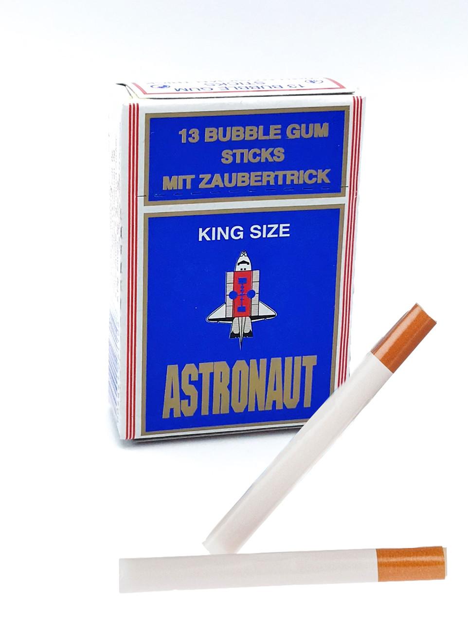 Hitparade bubble gum Sticks Жевательная резинка палочки в виде сигарет (Astronaut)