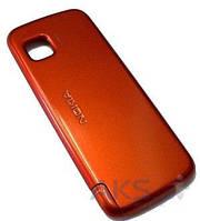 Задняя часть корпуса (крышка аккумулятора) Nokia 5230 / 5233 / 5235 Original Orange