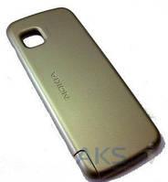 Задняя часть корпуса (крышка аккумулятора) Nokia 5230 / 5233 / 5235 Original Khaki Gold