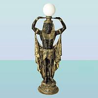 Интерьерный светильник статуя Фараон (Б). Напольный торшер для дома