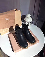 Женские демисезонные ботинки MiuMiu