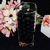 Гидрогель,  шарики гелиевые, средний размер цвет Черный