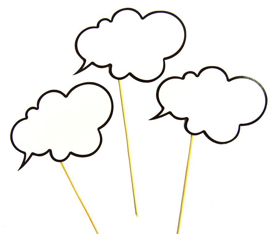 Набор Речевое облако 6 предметов