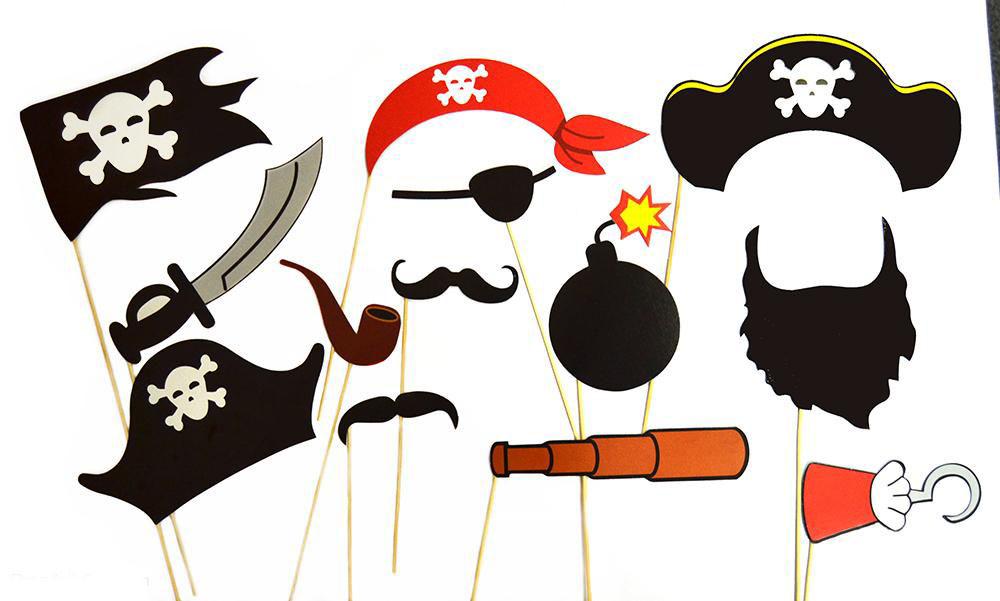 Набор Пиратская 13 предметов
