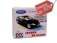 Модель залізна Welly арт.22470KB конструктор 1:24 Jaguar Xk Coup