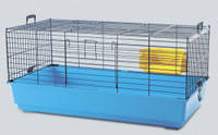 Клетка для кроликов Saviс ТИТУС (Titus), 100*50*46,5см, синий