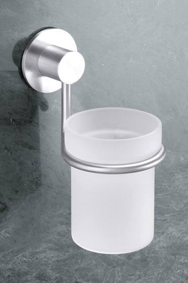 Стакан для ванной комнаты с креплением, устанавливаемым на стене-Марино