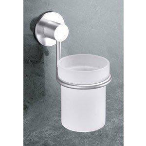 Стакан для ванной комнаты с креплением, устанавливаемым на стене-Марино, фото 2