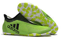 Футзалки (бампы) adidas X Tango 17+ Purespeed IN Legend Ink/Solar Yellow