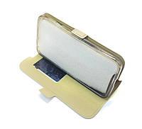 Чехол-книжка Momax для LG L70 Gold