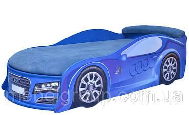 Кровать машина Ауди синяя