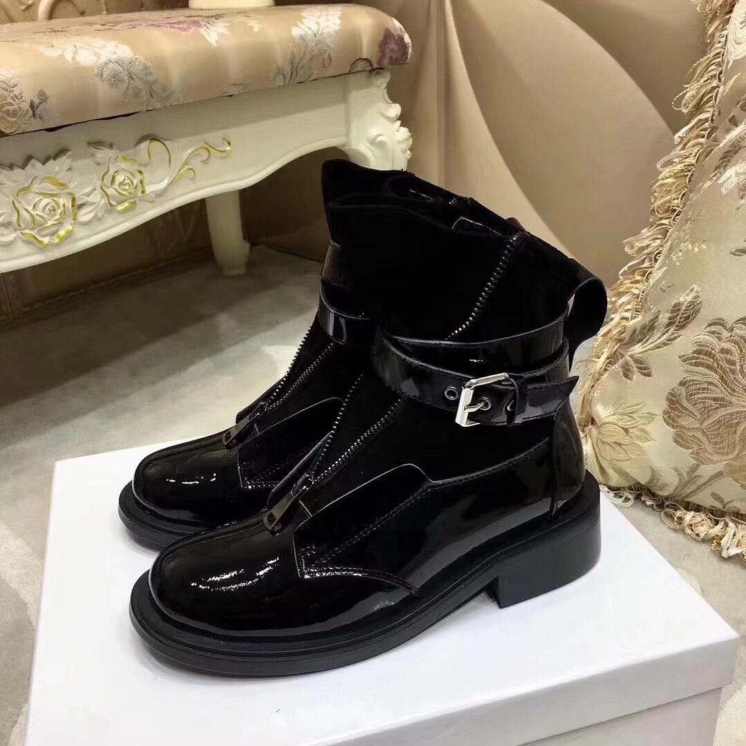 женские ботинки на молнии с пряжкой Balenciaga продажа цена в