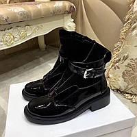 Женские ботинки на молнии с пряжкой Balenciaga