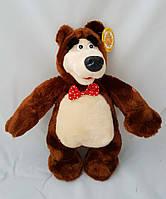 Игрушка мягкая игрушка медведь с мультика маша и медведь мягкий приятный ощюпь плюшевый