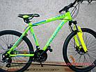 Горный велосипед Crosser Flash 26 дюймов салатовый, фото 2