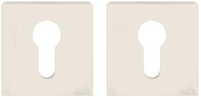 Накладка под цилиндр ORO&ORO PZ-15E White белый жемчуг