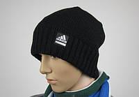 Шапка мужская чёрная Adidas