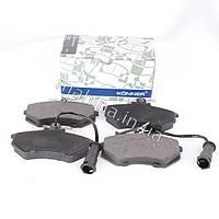 Колодки тормозные передние с ушком KONNER Chery Amulet Чери Амулет A11-3501080