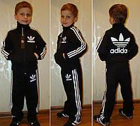 """Тёплый классический спортивный костюм  """"adidas"""" 128 и 134 рост."""
