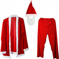 Прокат Костюм карнавальный Санта Клаус