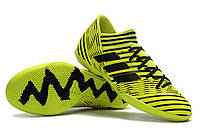 Футзалки (бампы) adidas Nemeziz Tango 17.3 IC Solar Yellow/Core Black, фото 1