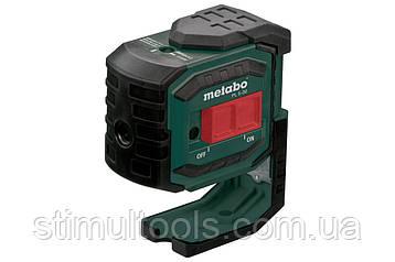 Лазерный пятиточечный нивелир Metabo PL 5-30