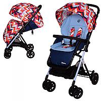 Детская прогулочная коляска AMORE M 3405-12-2 с чехлом на ножки