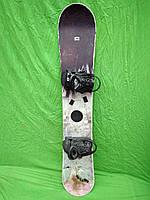 Сноуборд Black hole 159 см + кріплення atomic