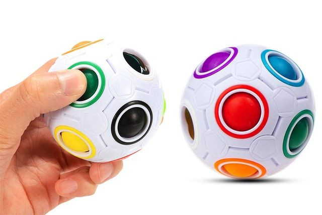Кольорова чудо-куля – чудова іграшка і тренажер для мозку