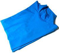Гольф котон Турция размер 48-54 код 050 голубой