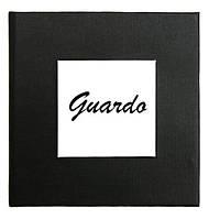 Черная подарочная картонная коробочка Guardo для наручных часов