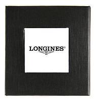 Черная подарочная картонная коробочка Longines для наручных часов